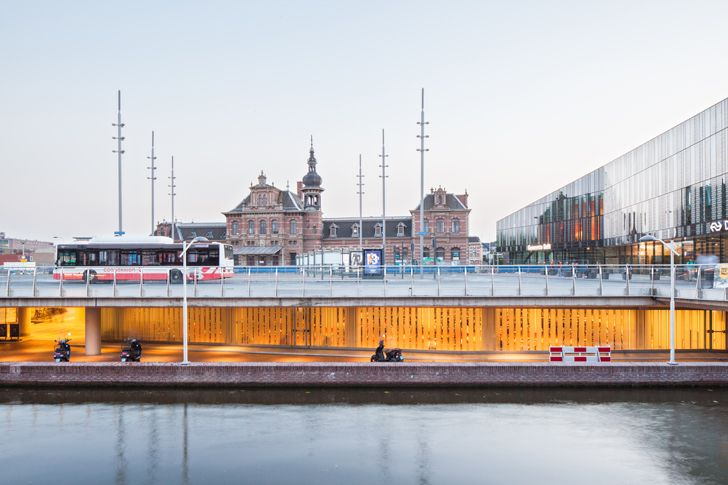 """historical context delft city hall railway station mecanoo architects indiaartndesign"""