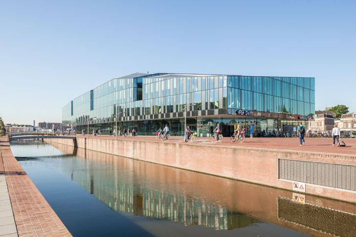 """delft city hall railway station mecanoo architects indiaartndesign"""