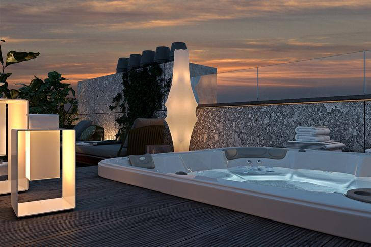 """jacuzzi terrace in paris diff studio indiaartndesign"""
