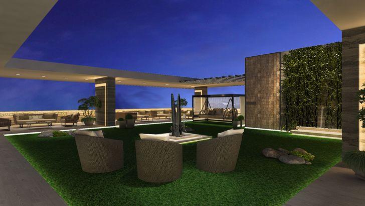 """vertical garden terrace mahesh punjabi associates indiaartndesign"""