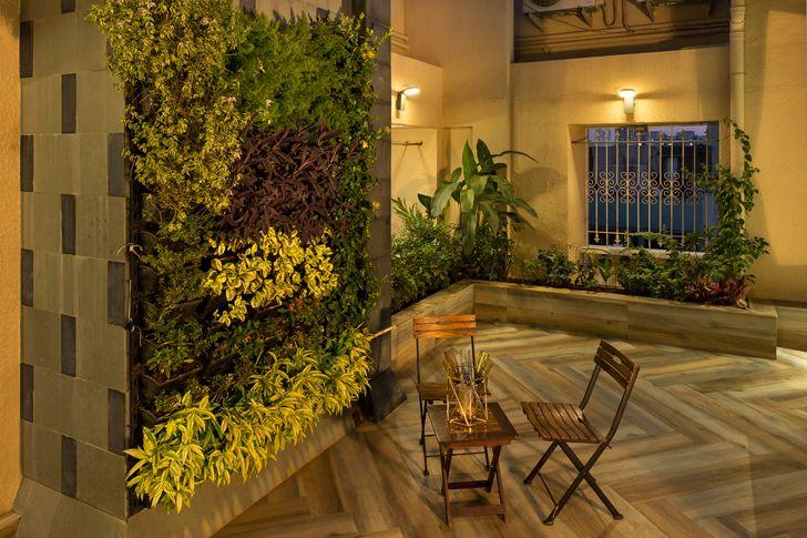 """vertical garden studio osmosis indiaartndesign"""