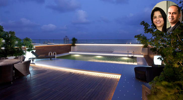"""swimming pool on terrace zz architects indiaartndesign"""