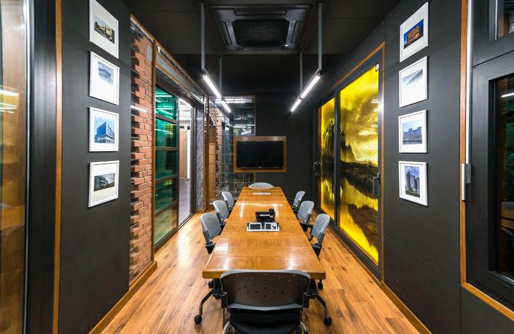 """conference room windows gallery Saransh architects indiaartndesign"""