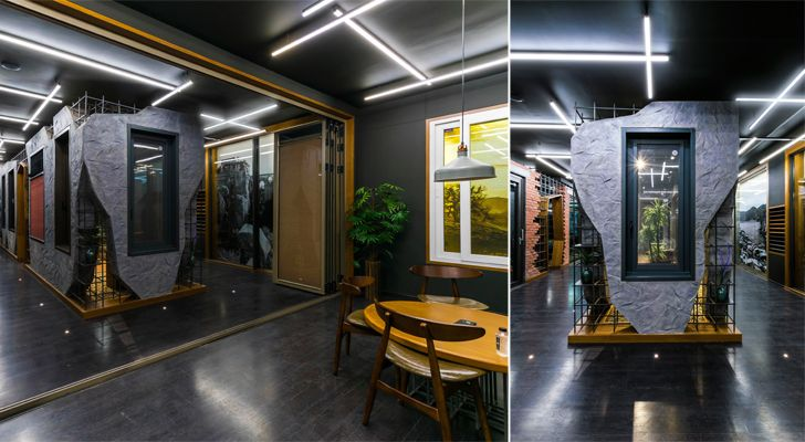 """gallery the windows factory Saransh architects indiaartndesign"""