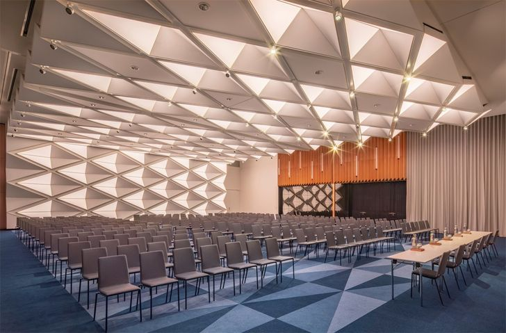 """event space hotel andaz munich concrete amsterdam indiaartndesign"""