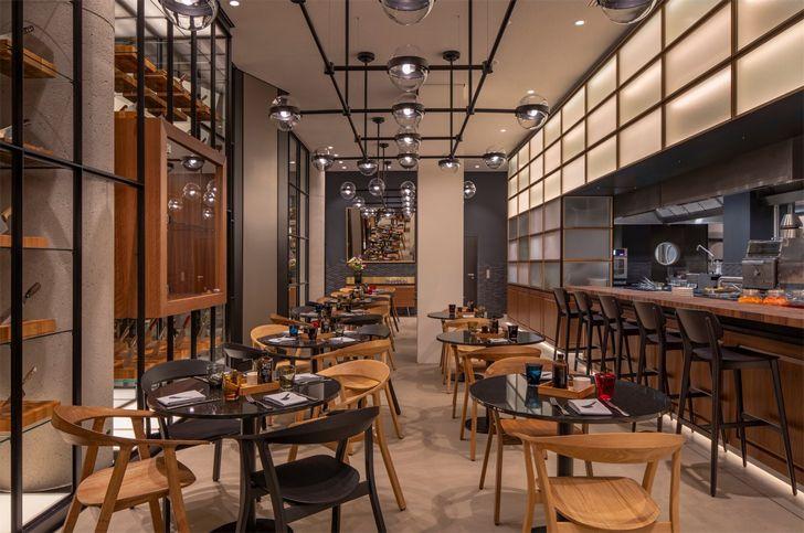 """""""restaurant hotel andaz munich concrete amsterdam indiaartndesign"""""""