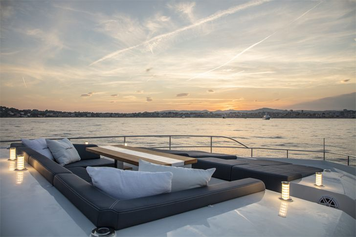 """bow area pearl 95 yacht interiors kelly hoppen indiaartndesign"""