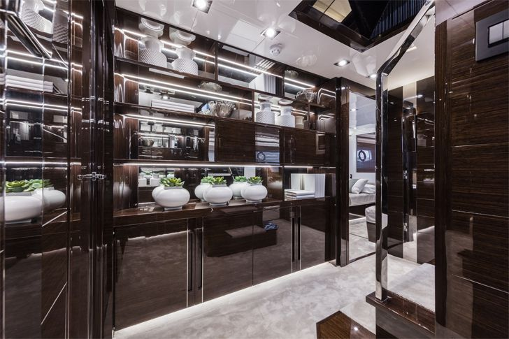 """hall1 pearl 95 yacht interiors kelly hoppen indiaartndesign"""