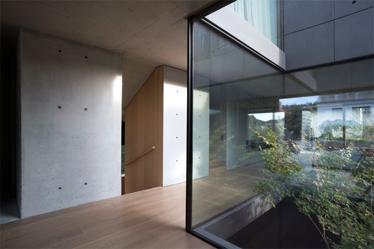 """enclosed glass atrium house portico OFIS indiaartndesign"""