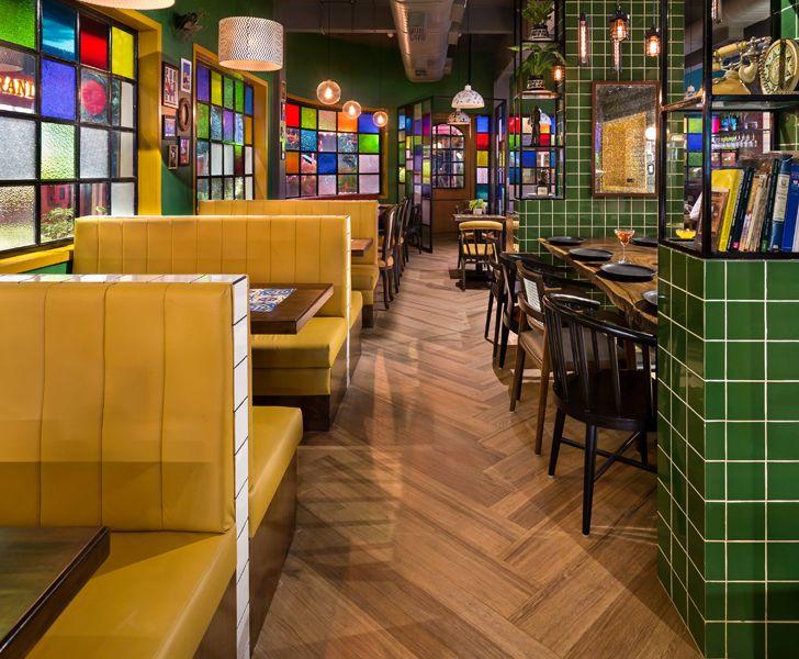 """""""wooden flooring Barcelos restaurant Studio osmosis indiaartndesign"""""""