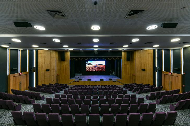 """auditorium adani house archgroup international indiaartndesign"""