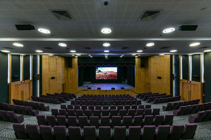 """auditorium adani house archgroup international indiaartndesign"""