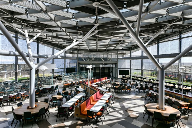 """cafeteria adani house archgroup international indiaartndesign"""