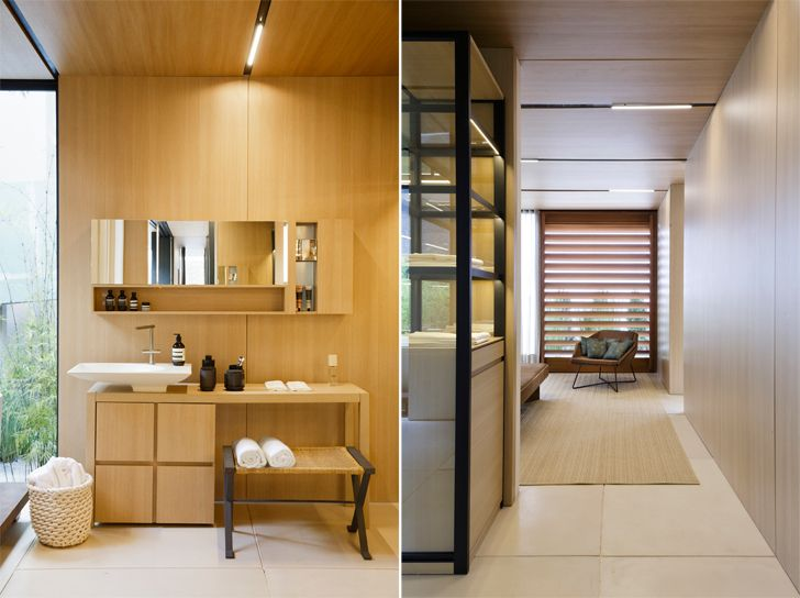 """bed and bath SysHaus Arthur Casas Design prefabricated homes indiaartndesign"""