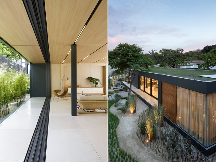 """green roof SysHaus Arthur Casas Design prefabricated homes indiaartndesign"""