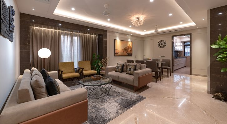 """contemporary home navi mumbai GA Design indiaartndesign"""