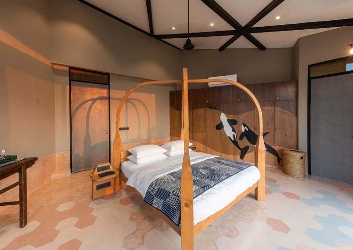 """bedroom drift house architect shonan trehan LAB indiaartndesign"""