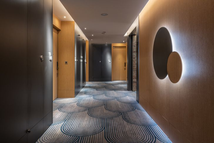 """corridors The Place Taipei Mecanoo Architects indiaartndesign"""