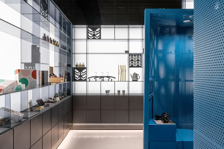 """pop up store The Place Taipei Mecanoo Architects indiaartndesign"""