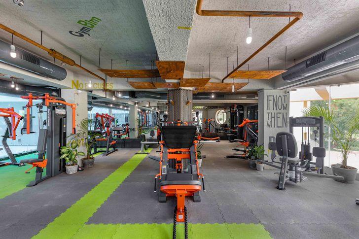 """overview gym Gandhinagar tHE gRID architects indiaartndesign"""
