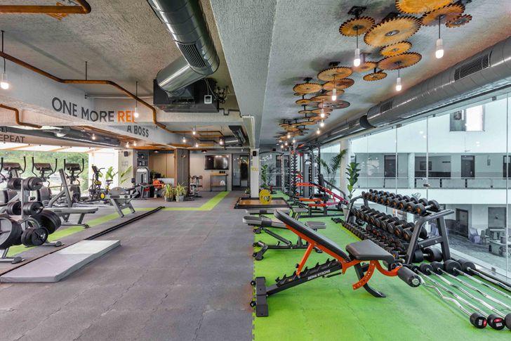 """work out zones gym Gandhinagar tHE gRID architects indiaartndesign"""