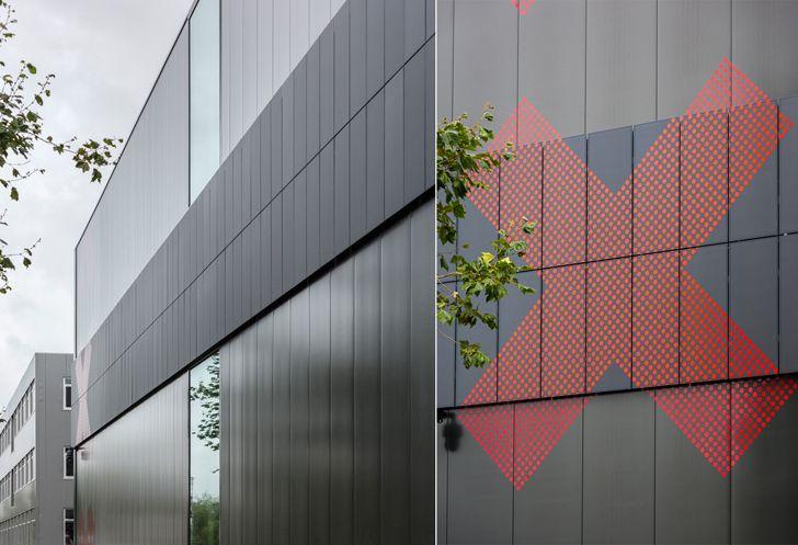 """facade Depot Amsterdam Noord Cepezed indiaartndesign"""