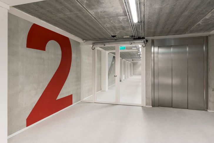 """""""signage and wayfinding Depot Amsterdam Noord Cepezed indiaartndesign"""""""