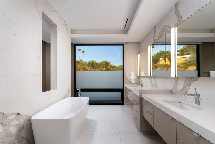 """bathroom bridge view house kendle design collaborative indiaartndesign"""