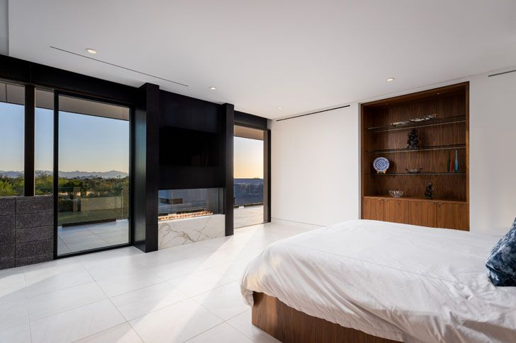 """bedroom bridge view house kendle design collaborative indiaartndesign"""