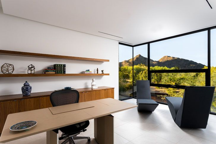 """home office bridge view house kendle design collaborative indiaartndesign"""