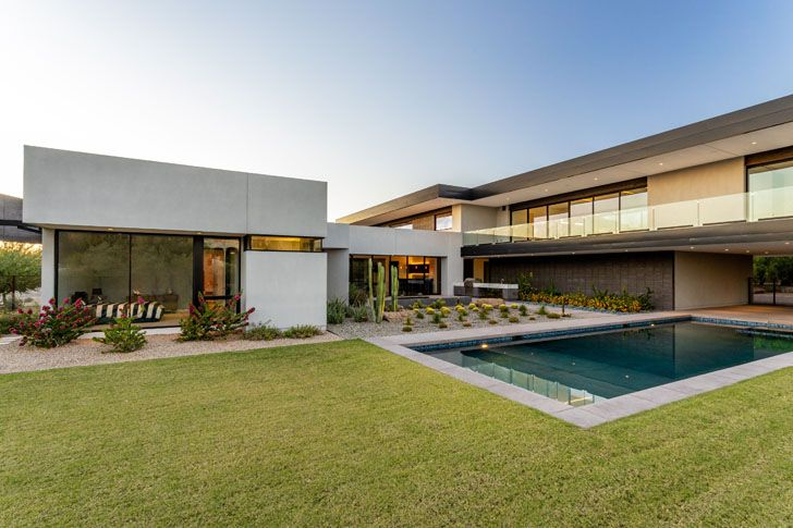 """pool bridge view house kendle design collaborative indiaartndesign"""
