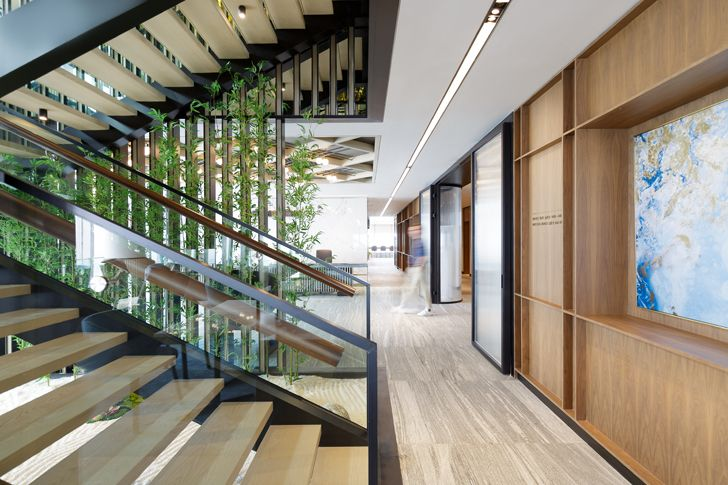 """staircase Cohesion co working space SHH architects indiaartndesign"""