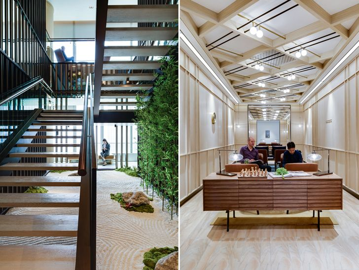 """stairs Cohesion co working space SHH architects indiaartndesign"""