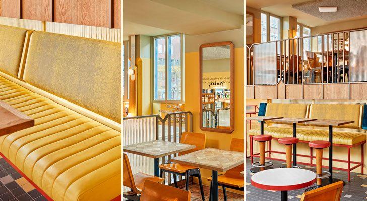 """varied seating La Cerveceria Studio Modijefsky indiaartndesign"""