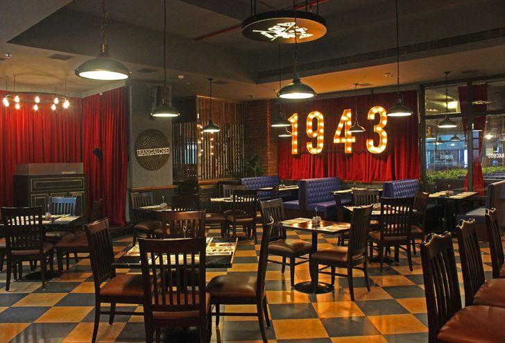 """""""imperial Uno pizzeria Bengaluru chromed design studio indiaartndesign"""""""