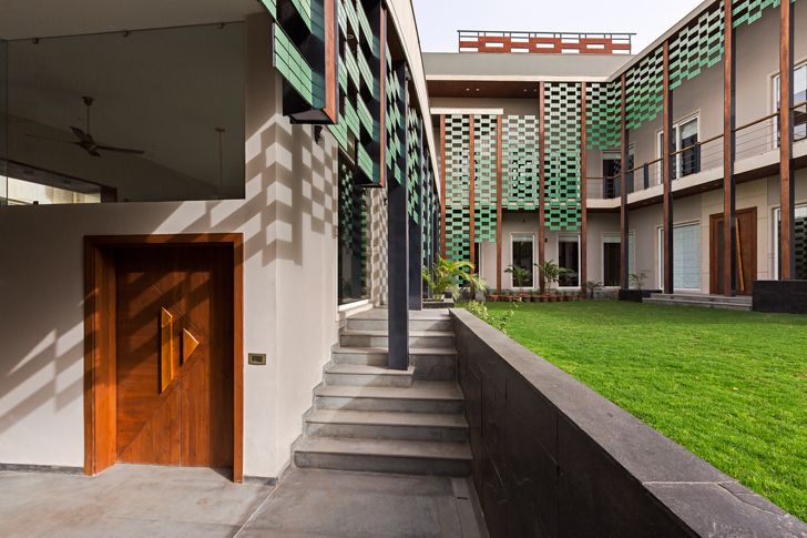 """noida bungalow anagram architects indiaartndesign"""