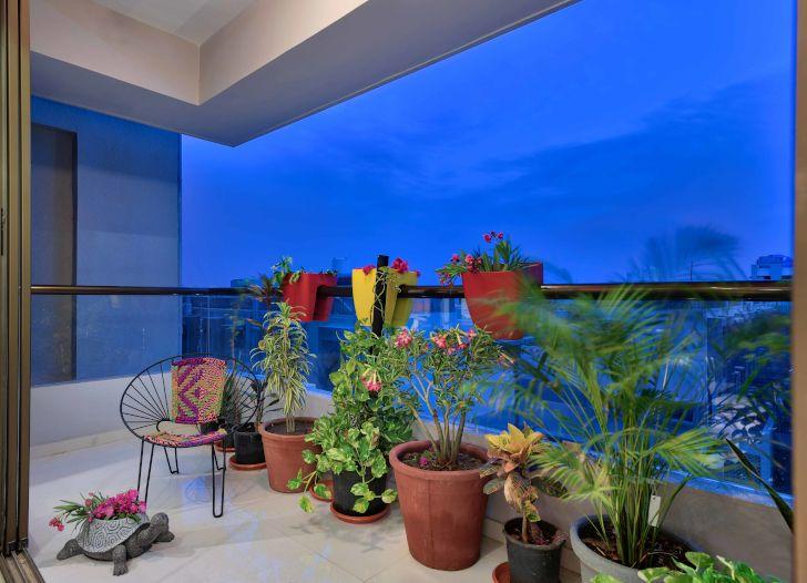 """balcony ahmedabad home archana shah associates indiaartndesign"""