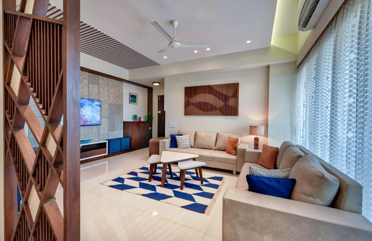 """overview living ahmedabad home archana shah associates indiaartndesign"""