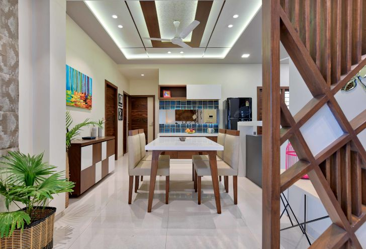 """panelled ceiling ahmedabad home archana shah associates indiaartndesign"""