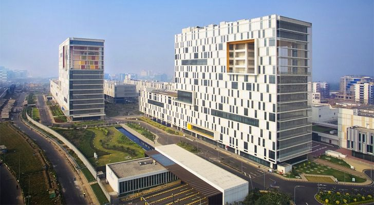"""TCS campus Kolkata CanonDesign indiaartndesign"""