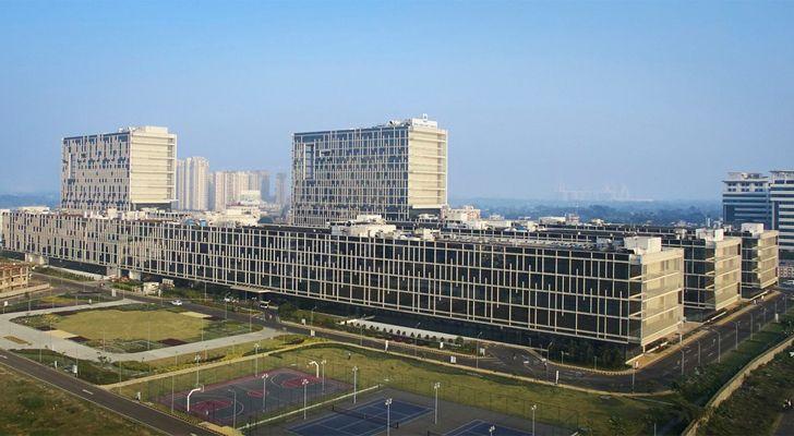 """vast TCS campus Kolkata CanonDesign indiaartndesign"""