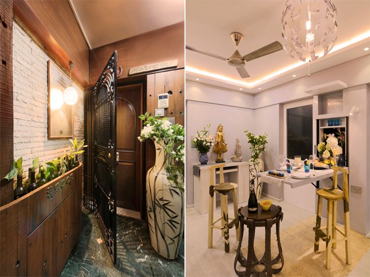 """entrance and pull out dining ashmit patel maheck chahal home ficus fine living indiaartndesign"""