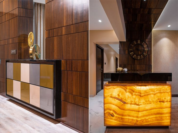 """material accents gold dust apartment GA Design indiaartndesign"""