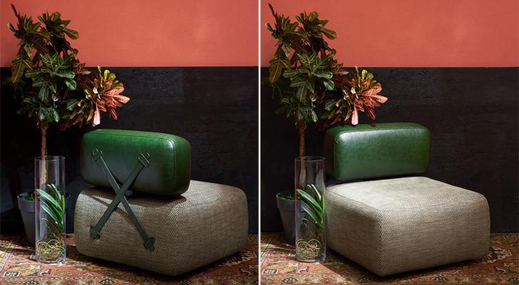 """makhno modular armchair indiaartndesign"""