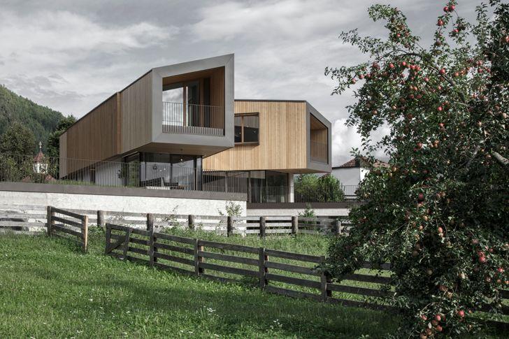 """view of landscape Rubner House Stefan Hitthaler Architektur indiaartndesign"""