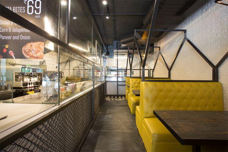 """linear plan boston bites restaurant studio ardete indiaartndesign"""