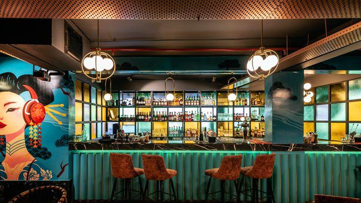 """""""bar pikkle restaurant chromed design indiaartndesign"""""""