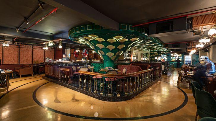 """""""overview pikkle restaurant chromed design indiaartndesign"""""""