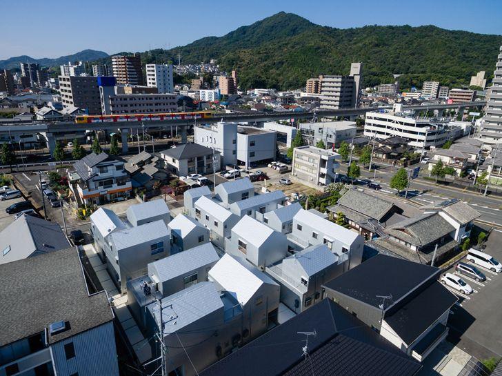 """aerial view chronos dwell masahiko fujimori indiaaartndesign"""