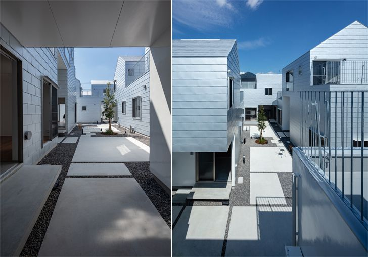 """courtyard chronos dwell masahiko fujimori indiaaartndesign"""
